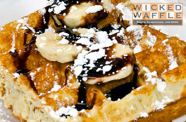 Food Spotting Washington DC - Wicked Waffle Header Image